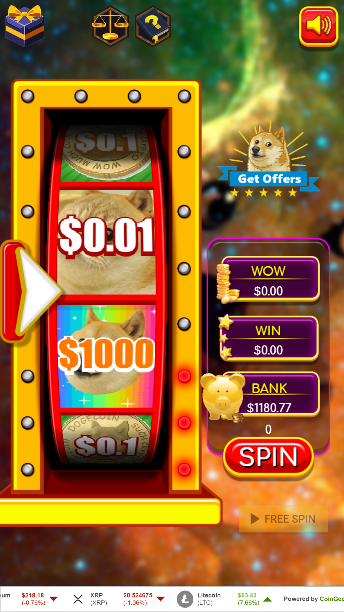 Doge Spin – Dogecoin for everyone